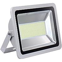 Mcitymall77-2x 300w Foco SMD ángulo luz 120 grados 220V ip65 cuarto estilo ahorra energía con la tecnología LED Proyector Blanco Frío(6000-6500K)(2PCS)