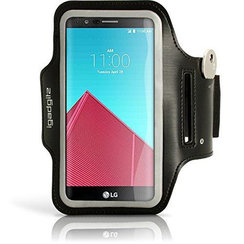nden Schwarz Sports Jogging Armband Laufen Fitness Oberarmtasche für LG G4 H815 Mit Schlüsselfach (Handy Fällen Für Lg-android-3g)
