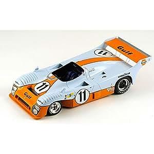 Spark - S18lm75 - Véhicule Miniature - Modèle À L'échelle - Mirage-ford Gr 8 Gulf - Winner Le Mans 1975 - Echelle 1/18