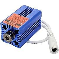Q-BAIHE 660nm 200-250mw Módulo de láser Rojo para el posicionamiento de Corte con disipador de Calor y Conector de CA