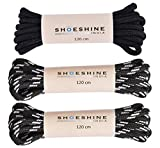 Shoeshine India round Boot Laces for Woodland Type Hiking shoes or boot
