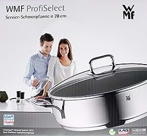 wmf 0761306991 servierschmorpfanne durchmesser 28 cm. Black Bedroom Furniture Sets. Home Design Ideas