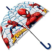 Disney – Spiderman paraguas transparente campana, mv15283, 19 ""
