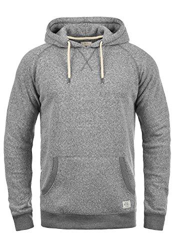 REDEFINED REBEL Montgomery Herren Kapuzenpullover Hoodie Sweatshirt aus hochwertiger Baumwollmischung Meliert Forged Iron