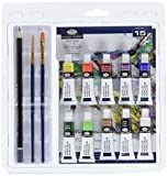 Royal & Langnickel Ensemble de dessin aquarelle, crayons et pastels 15 Piece Acrylic Painting Set