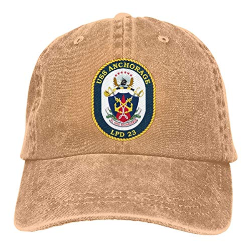 momnn USS Anchorage LPD 23 Summer Cool Heat Shield Unisex Adult Cowboy Hat