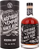 Austrian Empire Navy Reserva + GB 1863 40% Vol. 0,7 l