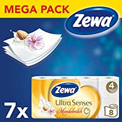 Zewa trocken Ultra Senses Riesenpackung