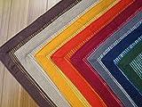Teppich Baumwolle indischen 100% 50x 85cm. Geeignet X Küche–Bad–Wohnzimmer grau