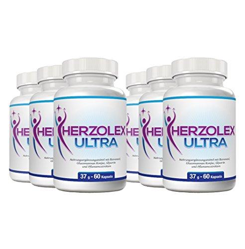Herzolex Ultra – Diätpille für effektiven Gewichtsverlust | Jetzt das 6-Flaschen-Paket mit Rabatt kaufen