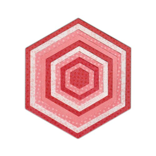 Sizzix Framelits Hexagons Stanzen Set, 10er Packung