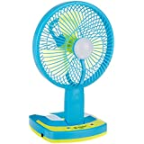 CITRA Jy Super 5590 Powerful Folding Rechargeable Table Fan with 21SMD LED Lights, Assorted