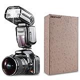 Neewer® NW565EX E-TTL Slave Flash Speedlite Kit per Canon 5D II 7D, 30D, 40D, 50D,EOS 300D 350D 400D 1000D 500D 550D 600D 700D 100D 1100D e altri Modelli Canon, Include: Neewer Flash + Diffusore + 35pz. Filtri Colorati + Trigger + 4pz. Batteria LR