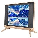 Diyeeni TV LCD 19 Pollici, 1366x768 Mini televisore Portatile Antipolvere AntiGraffio con Altoparlante per Bassi Eccellente, Motore di Elaborazione della qualità delle Immagini HD(Unione Europea)