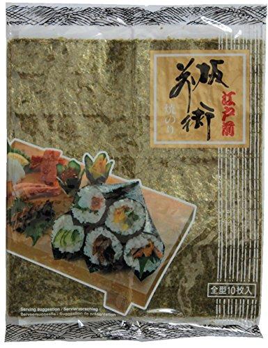 Alga nori per sushi 10 fogli 25g