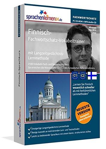 Finnisch-Fachwortschatz-Vokabeltrainer mit Langzeitgedächtnis-Lernmethode von Sprachenlernen24:...