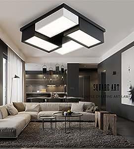 STTS LED-Deckenleuchte Modern Einfach Warm Romantischen ...