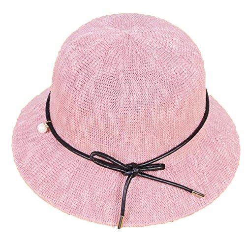 Mai Dou Dames Le Coton En Plein Air Le Soleil Voyage Chapeaux pink