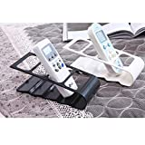 SwirlColor 1x Four Section Remote Control Stand Holder - White Color