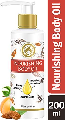 Mom & World Mother Nourishing Body Oil - 200ml - Complete Moisturising, 100% Pure Oils