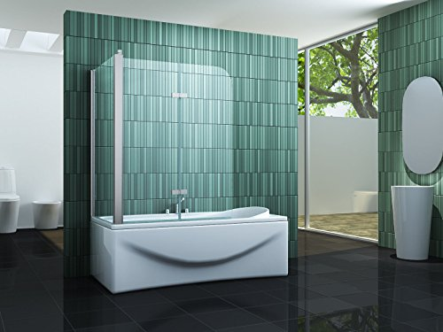 duschwand ecke Eck-Duschtrennwand PERINTO 70 (Badewanne)