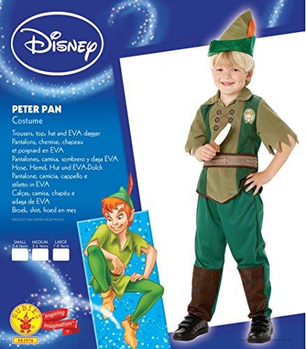 Imagen de rubie`s  disfraz infantil de peter pan deluxe 883976 m  alternativa