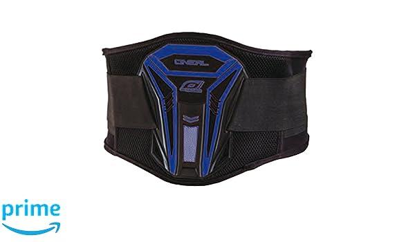 0733-0-L//XL ONeal PXR Nierengurt Blau Motocross Enduro L//XL MX Motorrad G/ürtel Lycra Klettband R/ückenst/ütze Farbe schwarz