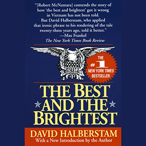 american best david essay halberstam we who American journalist and author david halberstam (born 1934) was awarded the pulitzer prize in 1964 for his international reporting of the vietnam war david halberstam is a versatile author who has published more than 16 books on diverse subjects such as civil rights, the world economy, the auto industry, and the war in vietnam.