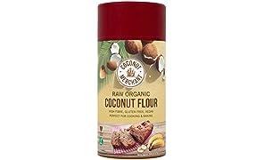 Raw Organic Coconut Flour 500 g Cocco