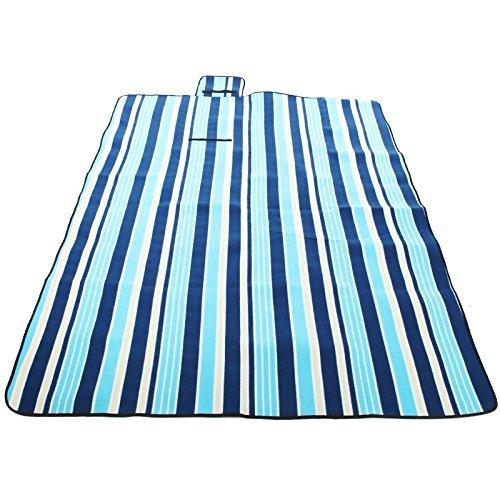 Les gens confortables avec un tapis de pointe en daim imperméable de pique-nique et des tapis, des nattes section surdimensionnées plus épais 200 * 150cm