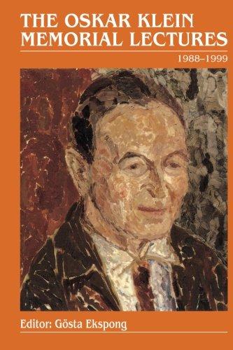 Oskar Klein Memorial Lectures, The: 1988-1999