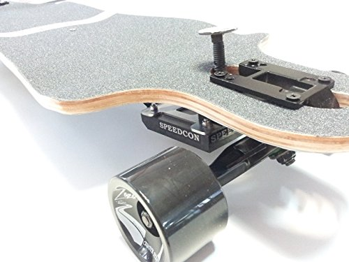 Longboard Bremse 2.0 für Drop Through(EIN Single New NTR Gummi-Bremsbelag-Kit)