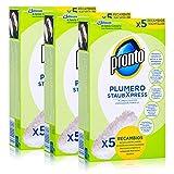 Pronto Plumero StaubXpress Nachfüllpack ohne Griff - 5 Faserköpfe (3er Pack)