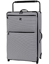 IT Luggage WorldS Lightest Urbane 2 Wheel Super Lightweight Suitcase Large Maleta, 83 cm