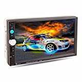 lacaca Auto MP5Player, 17,8cm Auto Stereo MP5MP3Player Radio Bluetooth USB AUX
