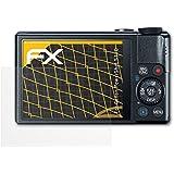 3 x atFoliX Schutzfolie Canon PowerShot S110 Displayschutzfolie - FX-Antireflex blendfrei