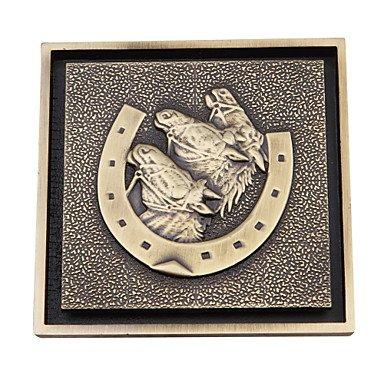 FAYM@ Bad Zubehör Antique Brass Finish aus massivem Messing Bodenablauf-LK-1063 - Bad Zubehör Antique Brass