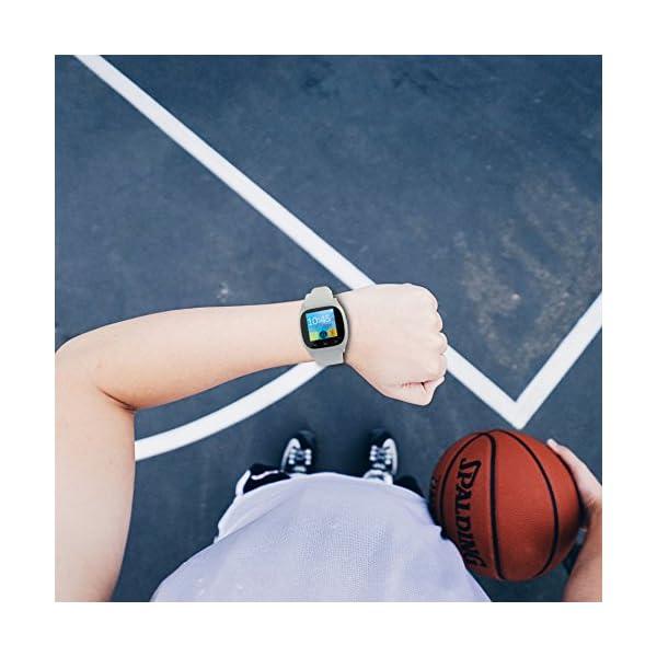 """Ksix BXSW10B - Smartwatch de 1.3"""", Color Blanco 3"""