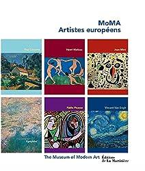 Coffret MoMA, artistes européens en 6 volumes : Paul Cézanne, Henri Matisse, Joan Miro, Claude Monet, Pablo Picasso, Vincent Van Gogh