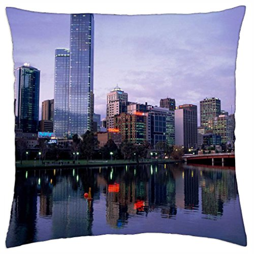 yarra-river-melbourne-australia-throw-pillow-cover-case-18-x-18