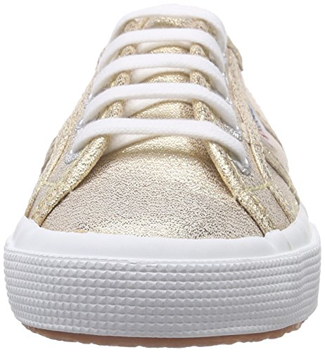 Superga Unisex-Kinder 2750 Lamej Sneakers Gold (174)