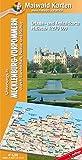 Mecklenburg-Vorpommern = Länderkarte MV - Unterwegs in Mecklenburg-Vorpommern - durch Landschaft, Natur und Kultur: 1:270.000 - Länderkarte von ganz ... - Maßstab 1:270.000 - Freizeitkarte) - Detlef Maiwald