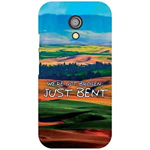 Motorola Moto G (2nd Gen) Back Cover - Just Bent Designer Cases