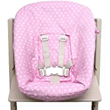 Amazon Fr Coussin Pour Chaise Tripp Trapp Stokke Rose