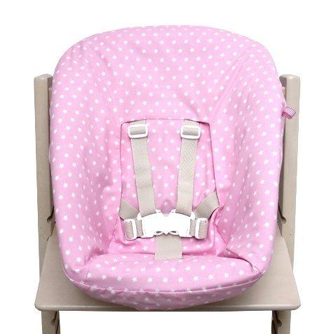 Blausberg Baby - Bezug für Stokke Newborn Set rosa Sterne