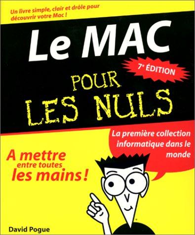 Le Mac pour les nuls par David Pogue