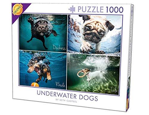 Cheatwell Games 28217Unterwasser Hunde Puzzle (1000Teile) - Puzzle Hund Jig Saw