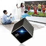 P1 Mini Portable Home HD Proiettore, WiFi Beamer, Proiettore Apple Apple DLP (P1H 30lums (ingresso scheda TF))
