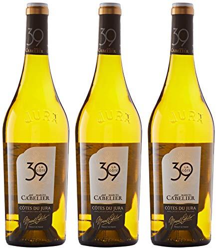 Marcel Cabelier La Cote Vin Blanc 750 ml - Lot de 3
