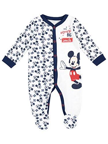 Disney Micky Maus Baby Jungen Mickey Mouse Schlafstrampler 56-68 (Mickey Maus Herren)
